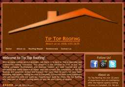 Tip Top Roofing On Nadine Dr In Campbell Ca 408 655