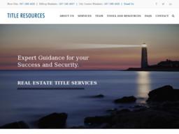Title Resources, LLC