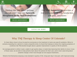 TMJ Therapy & Sleep Center of Colorado - Dr. Kevin Berry