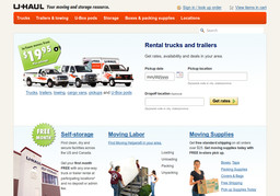 U - Haul Co - Moving Centers - Westminster