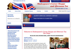 Shakespeare's Corner Shoppe & Afternoon Tea