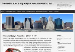Universal Body & Repair Inc