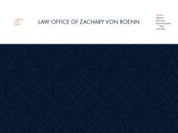 Law Office of Zachary Von Roenn