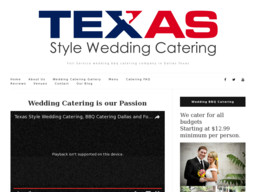 Texas Style Wedding Catering