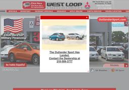 West Loop Mitsubishi San Antonio Tx >> West Loop Mitsubishi In San Antonio Tx 210 509 3777 Car Dealers