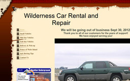 Wilderness Car Rental