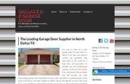 Dallas Z & R Garage Door