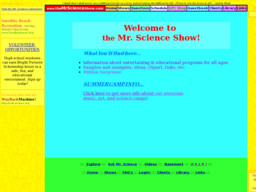 The Mr Science Show