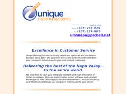 Unique Mailing Systems