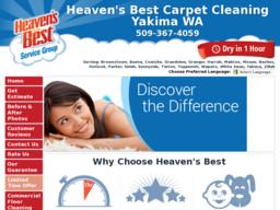 Heaven's Best Carpet Cleaning Yakima WA