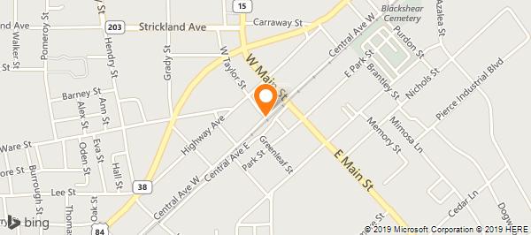 Pierce County Press on Central Ave in Blackshear, GA - 912-449-3570