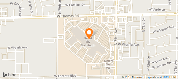 Dillard's Desert Sky Mall on Thomas Rd in Phoenix, AZ - 623 ... on puma map, jcpenney map, at&t wireless map, home depot map, world map, old navy map, target map, skype map, apple store map, frontgate map,