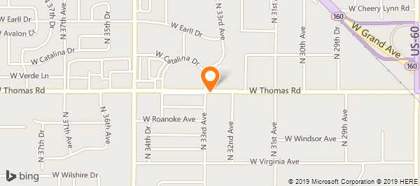 Map Of Arizona Driving.Arizona Driving School On Thomas Rd In Phoenix Az 602 273 4949
