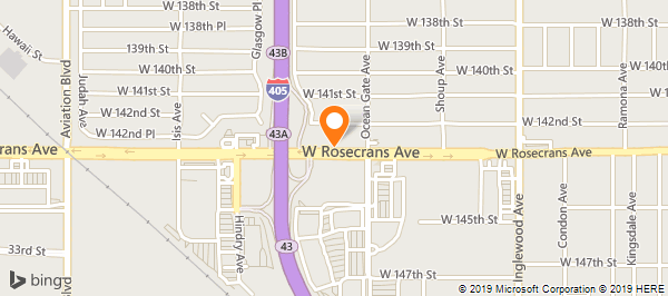 Hawthorne California Map.California Parking Systems Inc On Rosecrans Ave In Hawthorne Ca