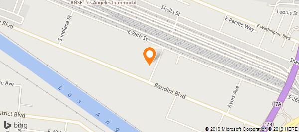 Bnsf Los Angeles Map
