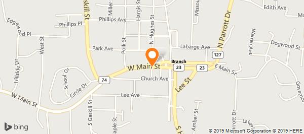 Arvest Bank - Huntsville in Huntsville, AR - 479-738-2133