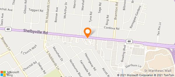 FedEx Kinko's Office and Print Center on Shelbyville Rd in ... on jewish hospital louisville ky map, orangeburg sc map, st. matthews louisville ky map,