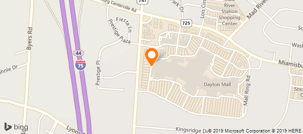Dayton Mall Map on